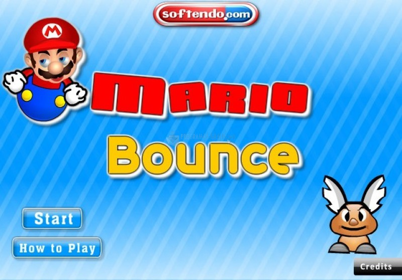 Pantallazo Super Mario Bounce 2