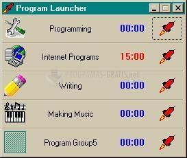 Pantallazo Program Launcher