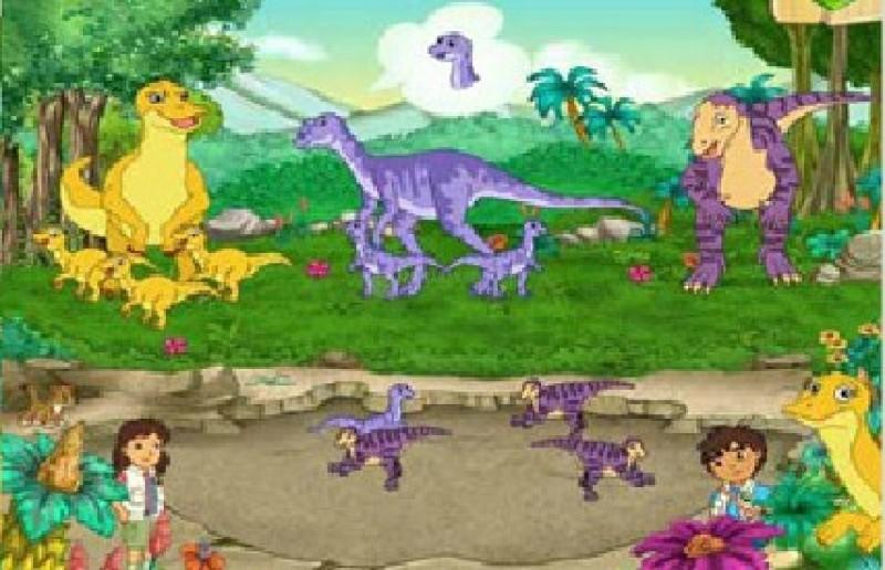Pantallazo Diego Dinosaur Rescue