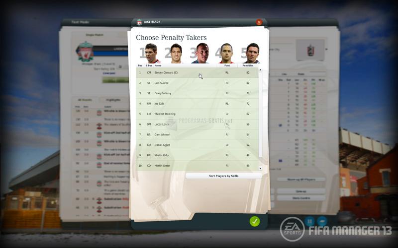 Pantallazo FIFA Manager 13