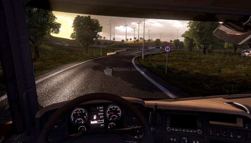 Pantallazo Euro Truck Simulator 2