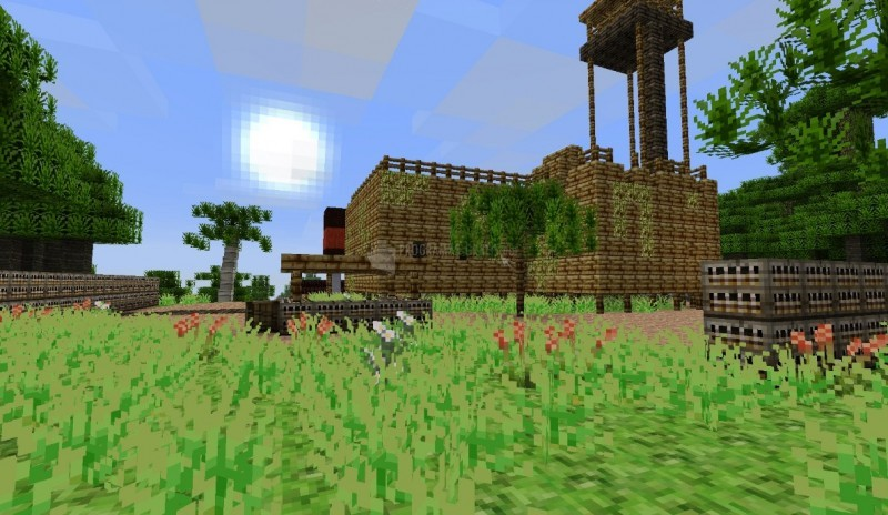 Pantallazo Far Cry 3 Minecraft Map Pack
