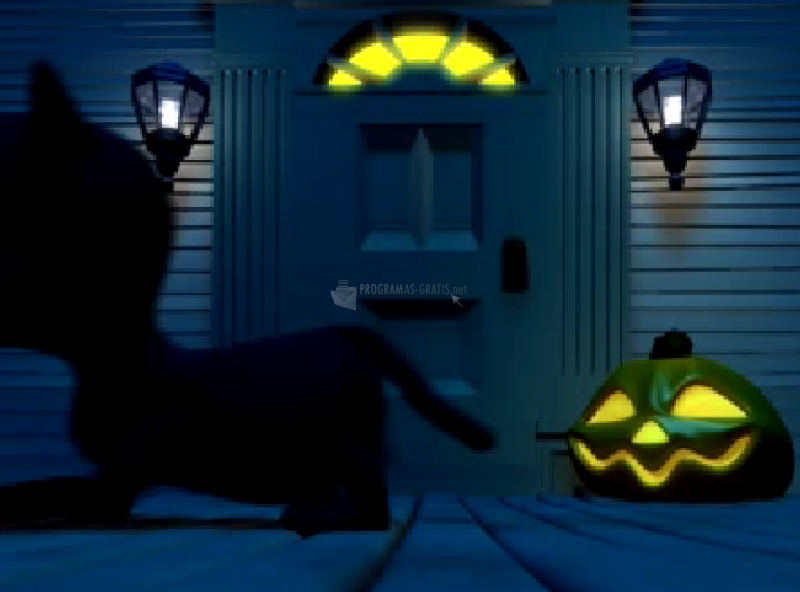 Pantallazo Gato negro de Halloween