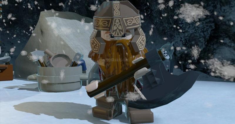 Pantallazo LEGO: El Señor de los Anillos