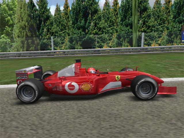 Pantallazo F1 Racing 3D Screensaver