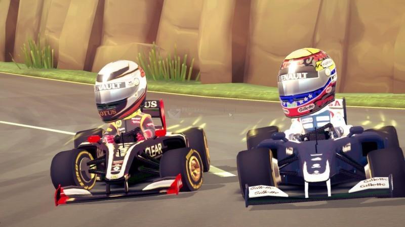 Pantallazo F1 Racer Stars
