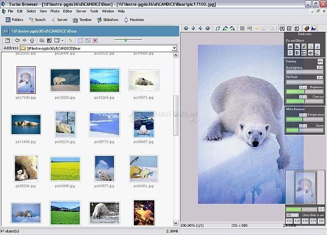 Pantallazo Turbo Browser