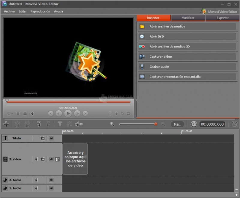 Pantallazo Movavi Screen Capture Studio