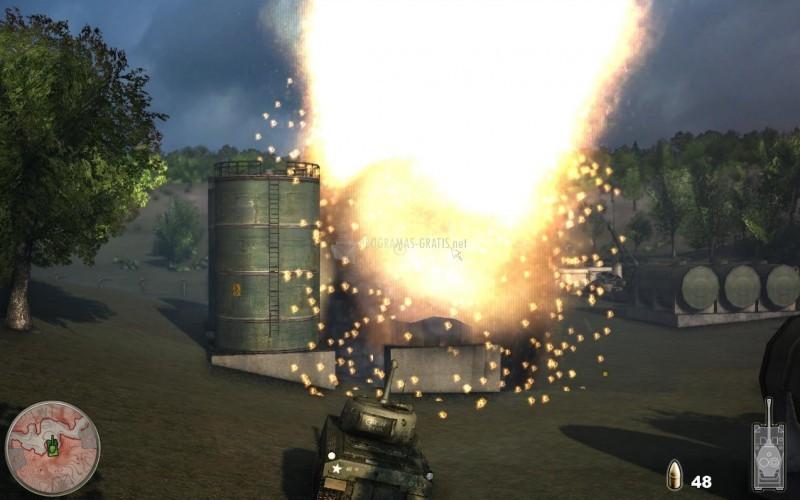 Pantallazo Tank Simulator
