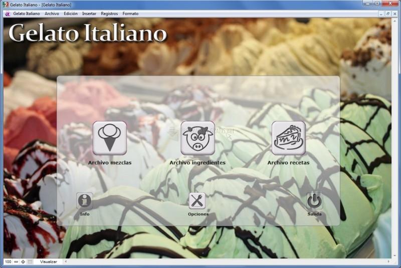 Pantallazo Gelato Italiano