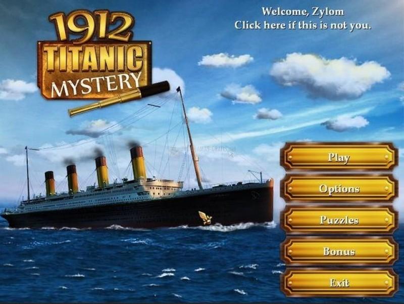 Pantallazo 1912 Titanic Mystery Deluxe