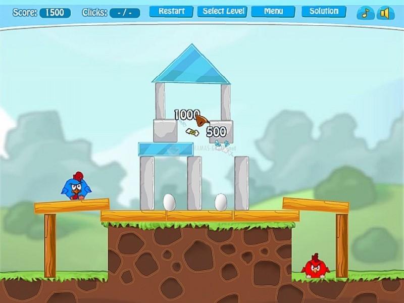 Pantallazo Angry Birds Free