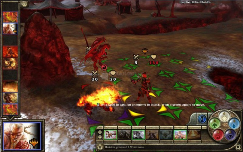 Pantallazo Magic: The Gathering Tactics