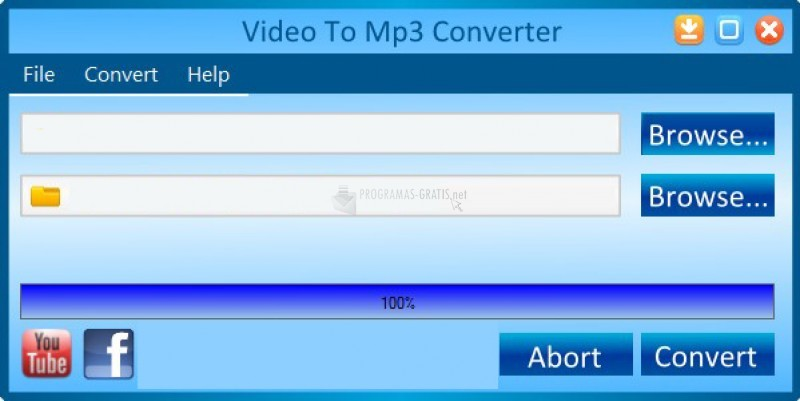 Pantallazo Video To Mp3 Converter