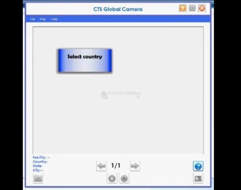 Pantallazo CTS Global Camera
