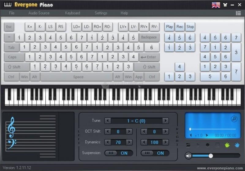 Pantallazo Everyone Piano
