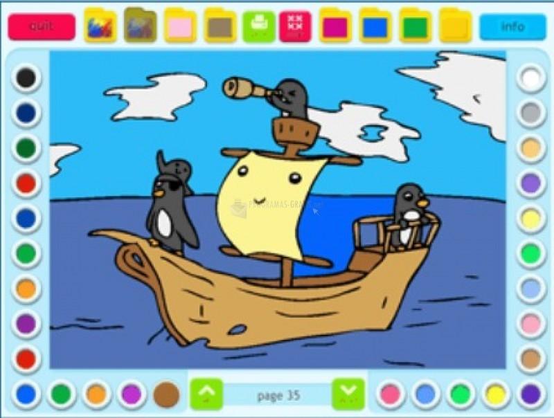 Pantallazo Coloring Book 16: Silly Scenes
