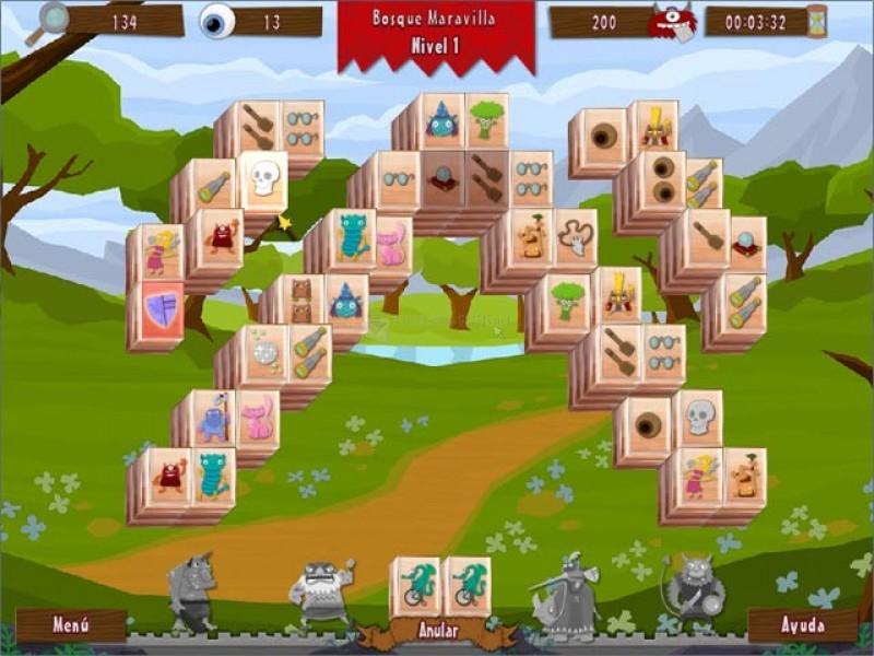 Pantallazo Wonderland Mahjong