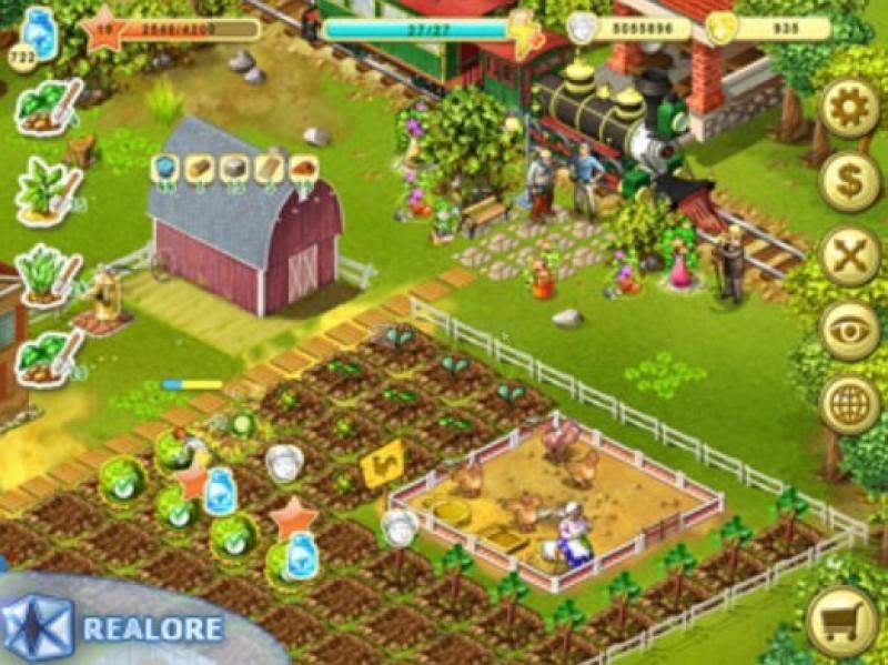 Pantallazo Farm Up