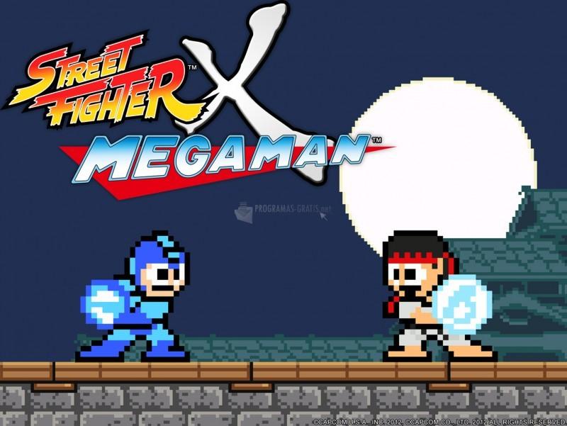 Pantallazo Street Fighter X Mega Man