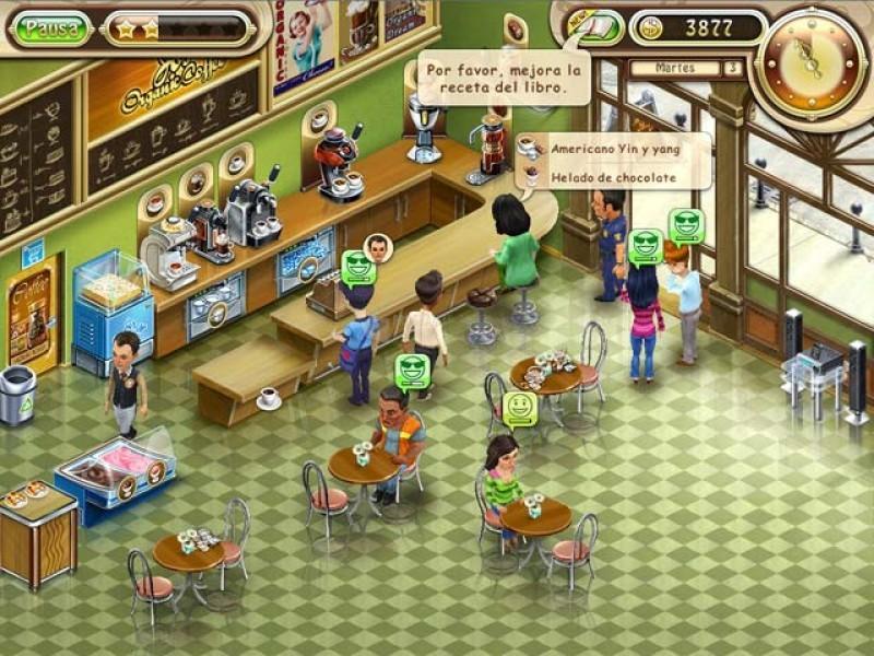 Pantallazo Café Orgánico