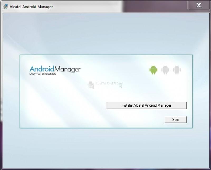 Pantallazo Alcatel Android Manager