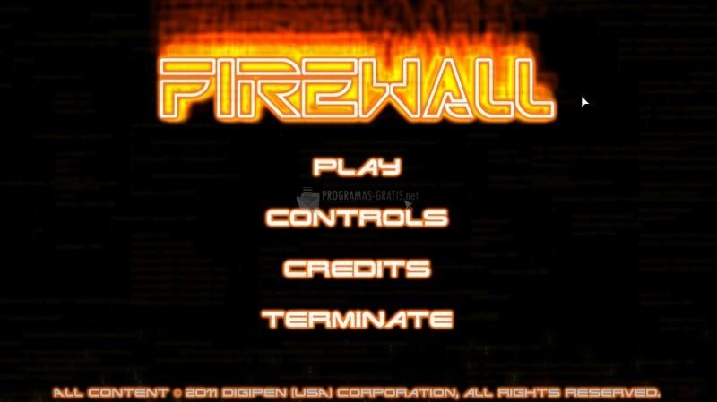 Pantallazo Firewall