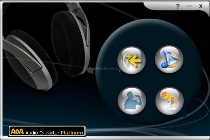 Pantallazo AoA Audio Extractor Platinum