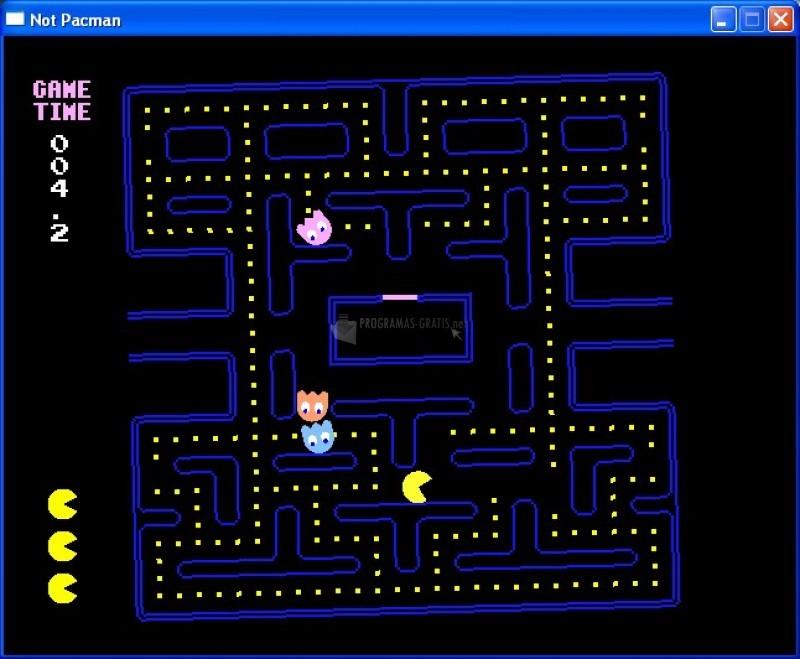 Pantallazo Not Pacman