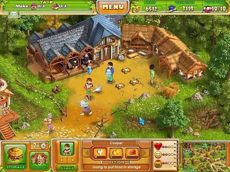 Pantallazo Farm Tribe 2