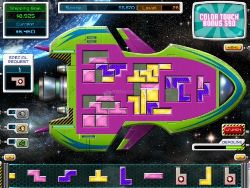 Pantallazo Galactic Express