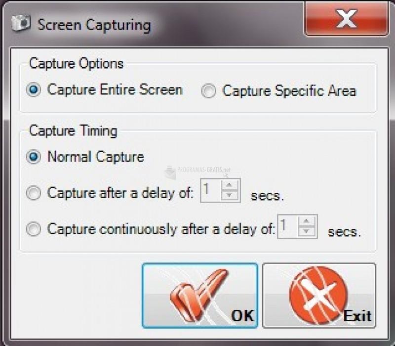 Pantallazo Screen Capturing