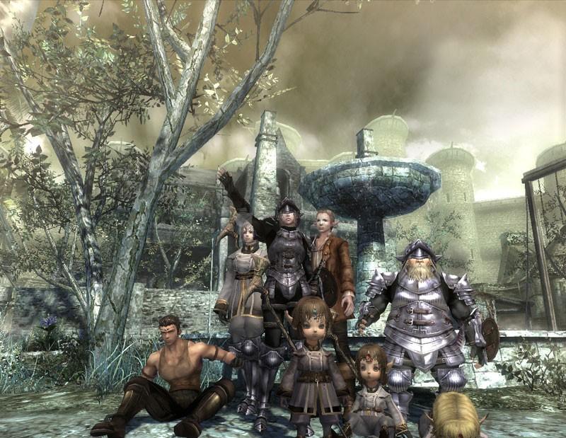 Pantallazo Wizardry Online