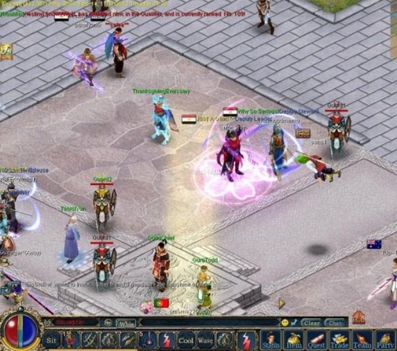 Pantallazo Conquer Online