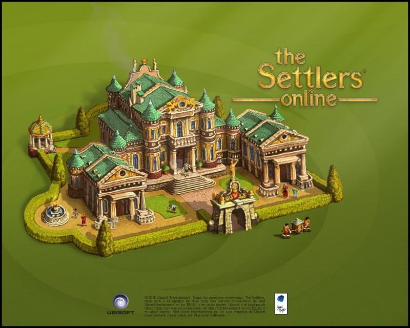 Pantallazo The Settlers Online