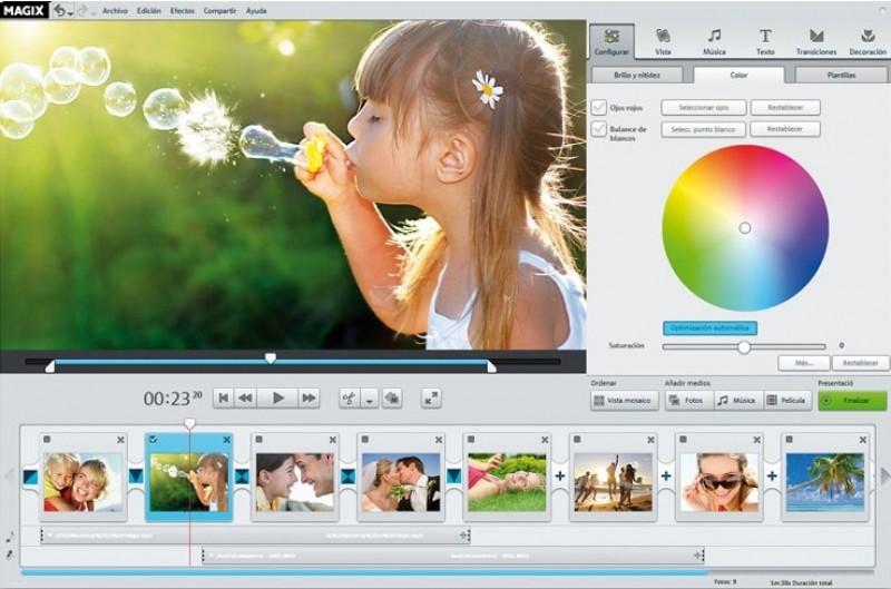 Pantallazo Magix Fotostory Easy