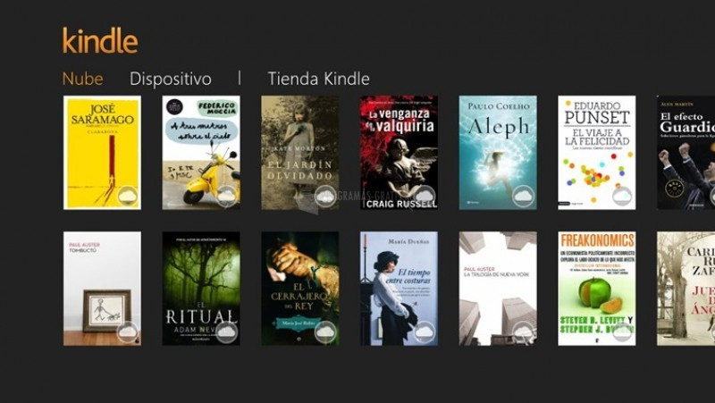 Pantallazo Amazon Kindle para  Windows 8