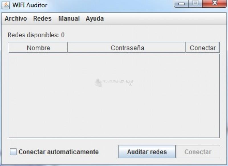 Pantallazo Wifi Auditor