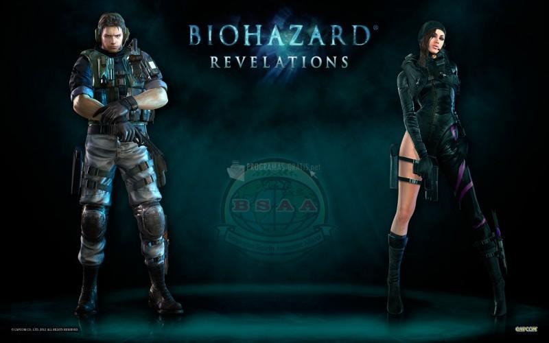 Pantallazo Resident Evil Revelations Wallpaper