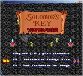Pantallazo Solomon's Key