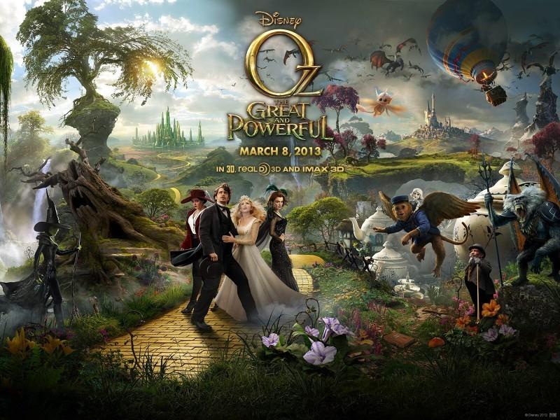 Pantallazo Oz. Un mundo de fantasía