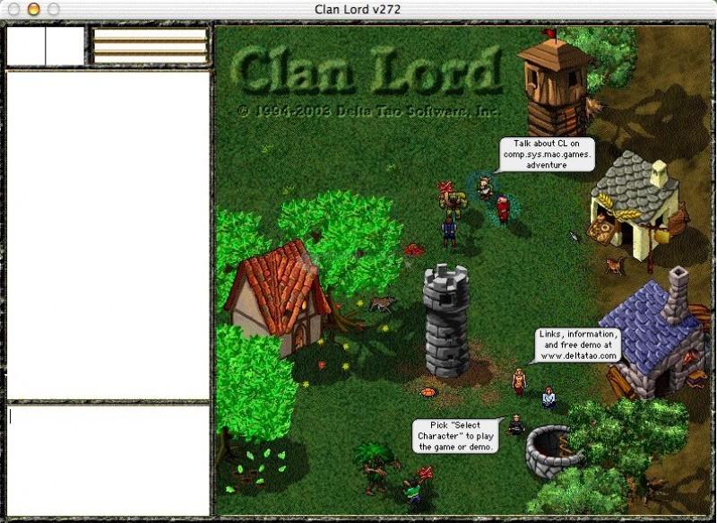Pantallazo Clan Lord