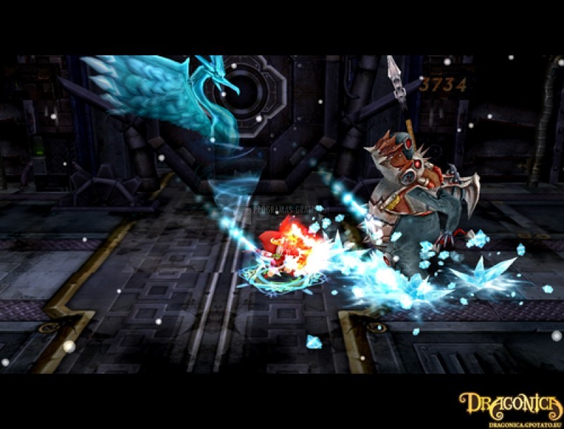Pantallazo Dragonica Online
