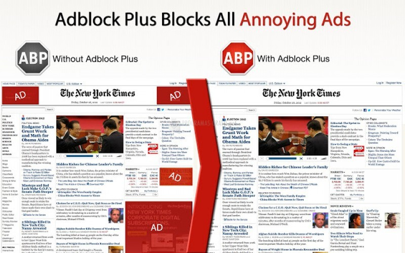 Pantallazo Adblock Plus para Google Chrome
