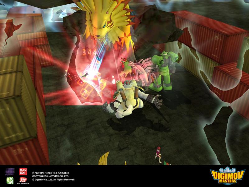 Pantallazo Digimon Masters Online