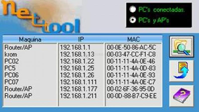 Pantallazo Net-Tool