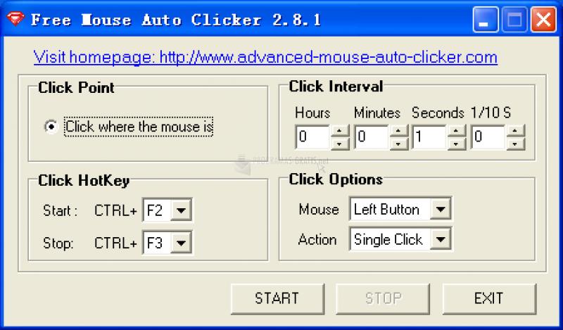 Foto Free Mouse Auto Clicker