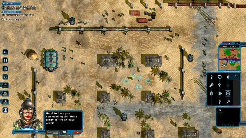 Pantallazo Machines at War 3