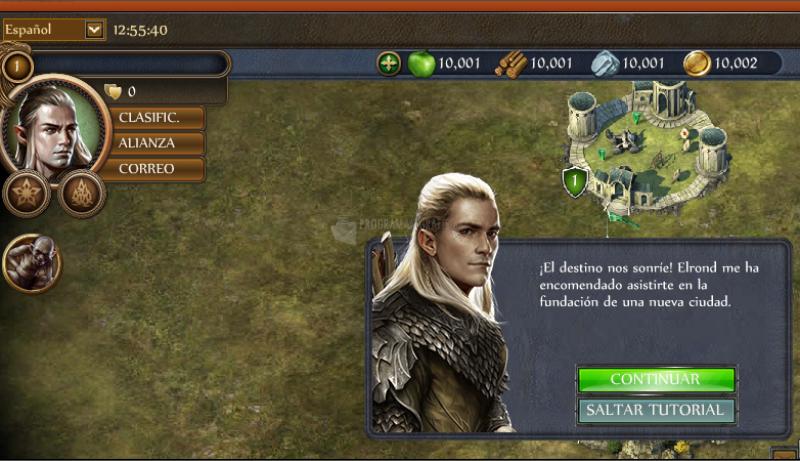 Pantallazo El Hobbit: Ejércitos de la Tercera Edad