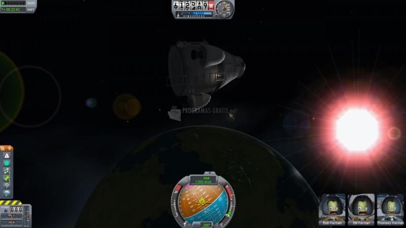 Pantallazo Kerbal Space Program